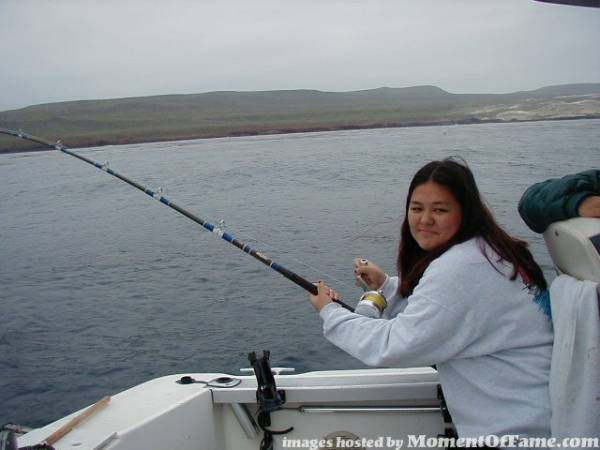 Me catching my first wsb