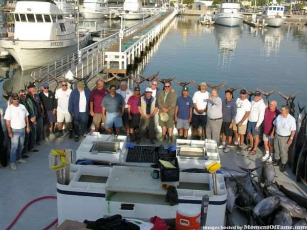 "2005 ""Fishin' for a Mission"" group photo"