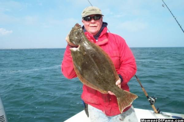 Cory with 6 lb. Halibut