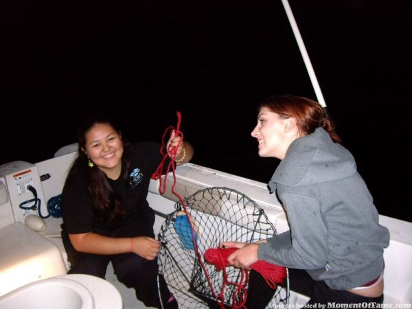 Girls night out Hoop'n and a 7lb lobster 10/24 - Saltwater Fishing Discussion Board Including ...