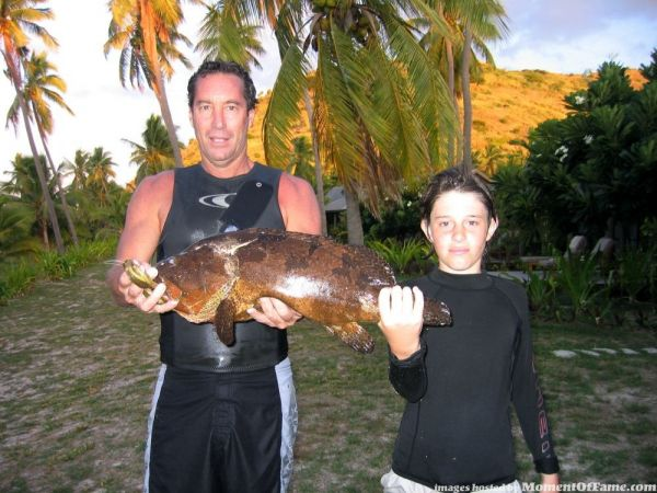 the grouper that almost killed me