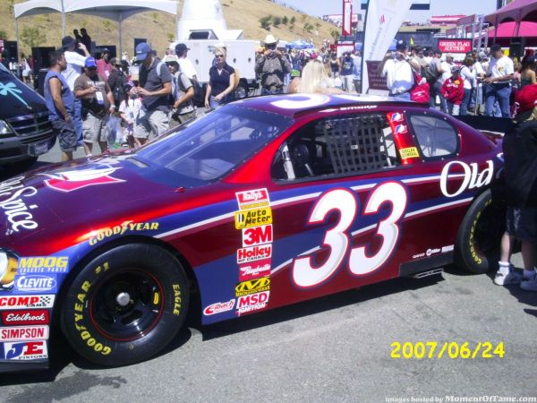 Smoke's Busch Car