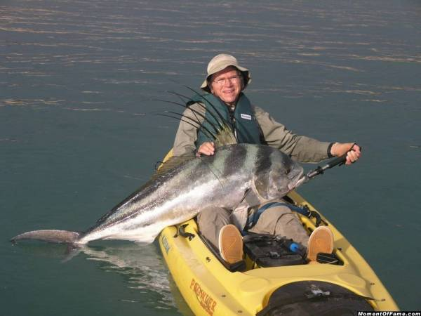 Kayak Record Rooster July 2008 Baja