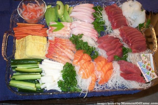 Sashimi at Home