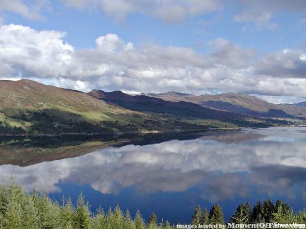 Loch Carron In Scotland