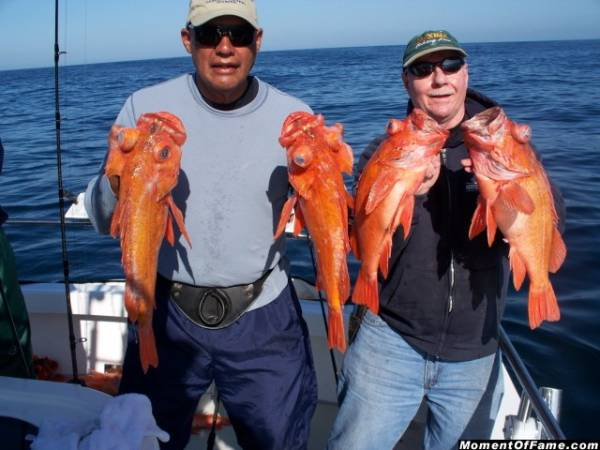Enrigue & Cory with Big Reds