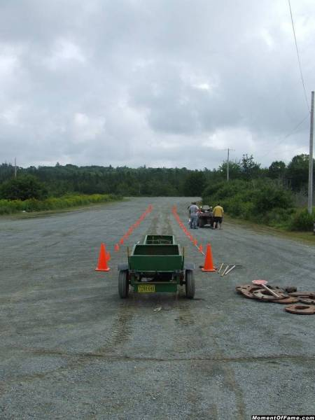 1st anual Sheet Harbour ATV pull