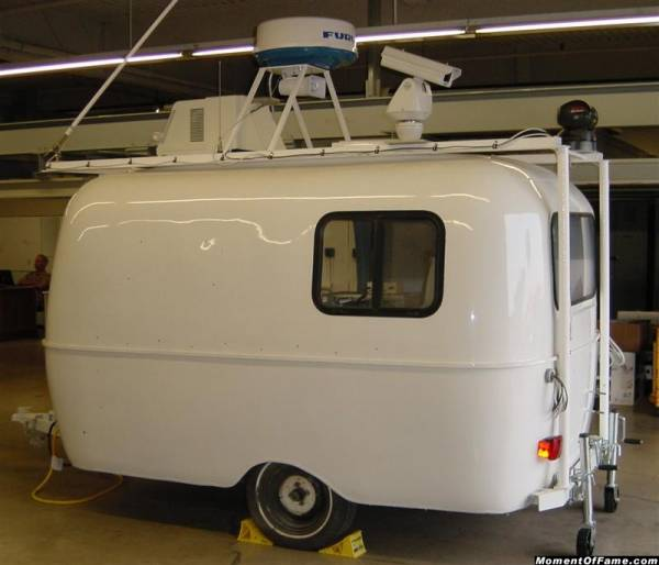 Mobile Radar Surveillance Center