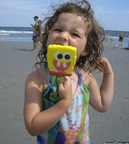 Alyson and Spongebob 2006